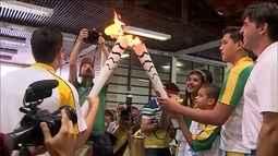 Tocha olímpica passa por cidades de Sergipe e de Alagoas