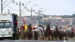 Cavaleiros percorrem mais de 400 km na região de Itapetininga e Sorocaba