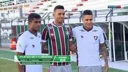 Fluminense apresenta três reforços para a temporada