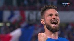 Os gols de França 3 x 0 Escócia em amistoso internacional