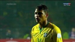 Thiago Silva e Fernando Prass estão na pré-lista da seleção brasileira para a Olimpíada