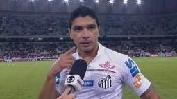 """""""Eles foram mais eficientes"""", lamenta Renato, sobre derrota do Santos"""