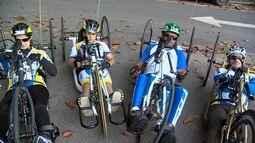 Mix conhece equipe de paraciclismo de São José dos Campos