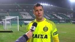 Wilson lamenta empate em casa contra o Internacional
