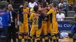 Os gols de Benfica 2 x 4 Magnus Fustal pela Copa Intercontinental de Futsal