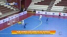 ACBF estreia com derrota no mundial de futsal