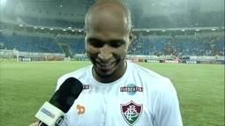"""Wellington Silva desabafa após vitória: """"Todos pensavam que seriamos goleados"""""""