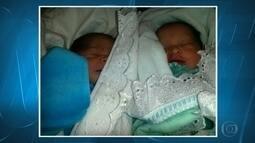 Mulher da à luz gêmeos dentro de ambulância na BR-040, na Grande BH