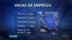 Sine oferece vagas de emprego em Goiânia