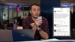 Twitter do Atlético-GO faz brincadeira com público no Serra Dourada