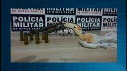 Jovem é preso suspeito de tráfico de drogas e posse ilegal de arma em Araxá