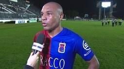 """Murilo Rangel comemora vitória sobre o Vasco: """"Fizemos uma partida perfeita"""""""