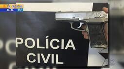 Três pessoas são presas por negociar venda de arma em rodoviária no RS