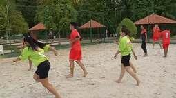 o 'É do Pará' mostra que o futebol é uma excelente pedida para jogar nas praias paraenses
