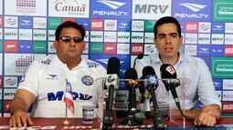 TV Bahêa - Confira a primeira coletiva do técnico Guto Ferreira como comandante do Bahia