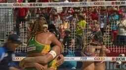 Brasil vence os Estados Unidos pelo Circuito Mundial de Volei de Praia
