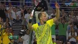 Bruno Soares e Marcelo Melo vencem equatorianos em jogo de duplas na Davis
