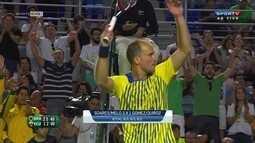 Marcelo Melo e Bruno Soares vencem dupla equatoriana na Copa Davis