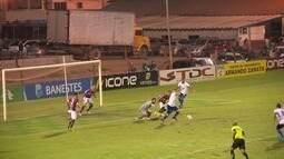 O gol de Desportiva Ferroviária 0 x 1 URT pela Série D do Campeonato Brasileiro 2016