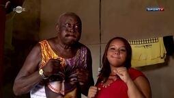Sensei promove encontro entre o Rei Zulu com a filha