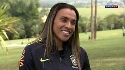 Marta fala sobre a expectativa para a Olimpíada do Rio