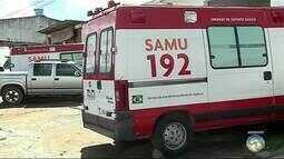 Samu funciona com duas ambulâncias básicas na manhã desta sexta (22) em Caruaru