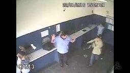 Bando rende funcionários durante assalto em empresa de ônibus no AM