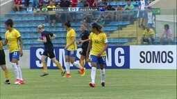 Melhores momentos de Brasil 3 x 1 Austrália em amistoso internacional de futebol feminino