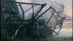 Trecho da BR-262 é liberado após carreta pegar fogo em Araxá