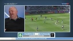 Paulo Massini comenta derrota do Palmeiras para Atlético-MG
