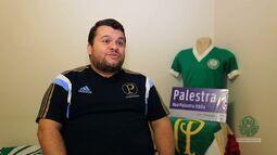 Palmeiras na TV - Conheça a casa de um torcedor fanático pelo Palmeiras