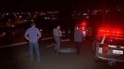 Motociclista morre após atropelar cavalo em avenida de Bauru