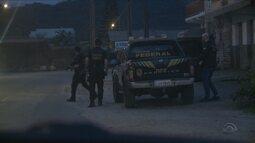 PF faz operação contra caixeiros de SC que eram liderados por policial do RJ