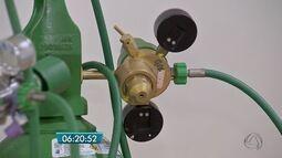Tubulação de oxigênio é furada durante obras na Santa Casa de Campo Grande