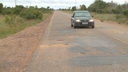 Mesmo após reclamações de moradores, estrada de Roraima continua em péssimas condições