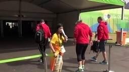 Atleta canadense machuca o pé e deixa a Vila Olímpica mancando