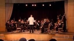 Orquestra de Câmara do Sesi-Minas encanta turistas e moradores na Pampulha, em BH