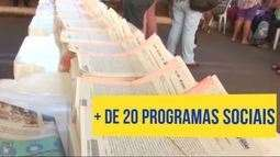 Governo oferece mais de 20 programas sociais à população