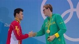 Discussão entre nadadores pode virar incidente diplomático