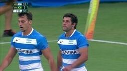 Brasil perde por 31 a 0 para a Argentina no rúgbi masculino na Rio 2016