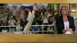 Nadia Comaneci e Bart Conner comentam vitória de Simone Biles no individual geral