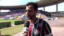 Henrique Dourado fala do gol que garantiu vitóra do Fluminense sobre América-MG