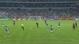 Melhores momentos de Atlético-PR 0 x 1 Palmeiras pela 20ª rodada do Campeonato Brasileiro