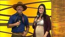 Neto Fagundes e Shana Müller adiantam as atrações do 'Galpão Crioulo' deste domingo (21)