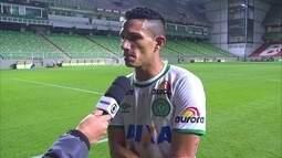 """Lucas Gomes celebra vitória fora de casa: """"O que vale são os três pontos"""""""