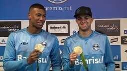 Com o retorno dos campeões olímpicos, Grêmio e Atlético-PR se enfrentam na Copa do Brasil