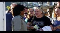 Doutora Grace visita Conselheiro Paulino em Friburgo, RJ