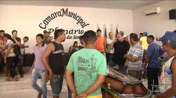 Vereador assassinado em emboscada é enterrado em Governador Nunes Freire, MA