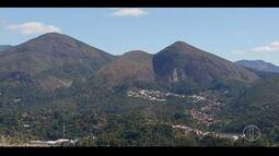Temperaturas caem na Serra do Rio; variação do clima é acompanhada por equipamento