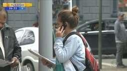 Moradores de Joinville reclamam da falta de cobertura de sinal de celular na cidade